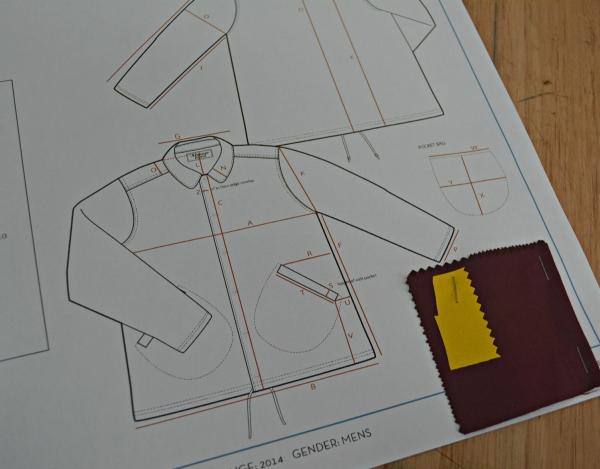 Coach Jacket Design