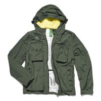 Ma.Strum Standard Kit Packable Sniper Jacket-Kombu Green £275 www.mastrum.com 1